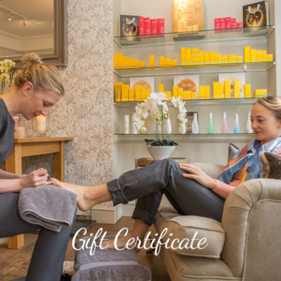 Cedar Therapy Gift Certificate