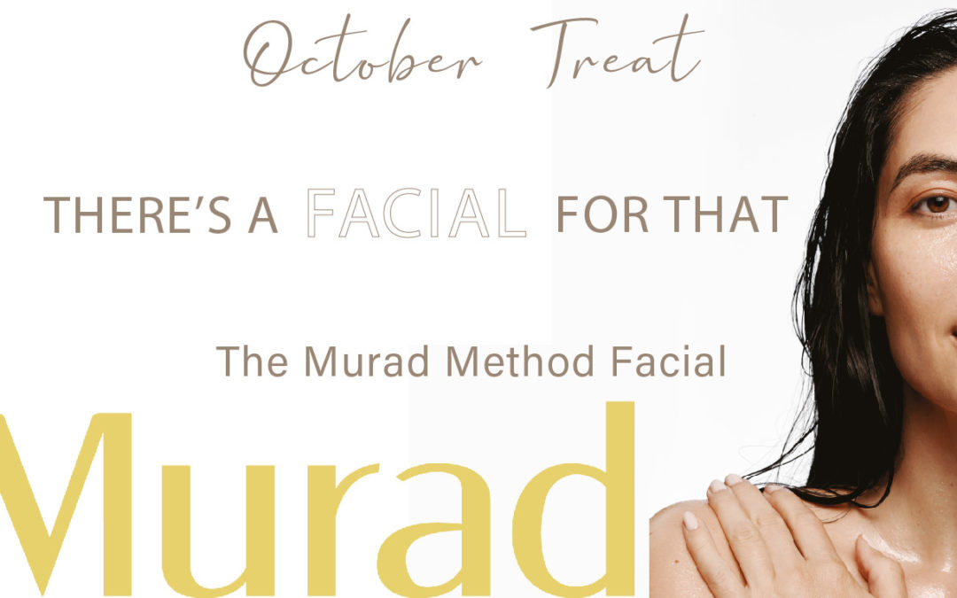 October Treat: The Murad Method Facial