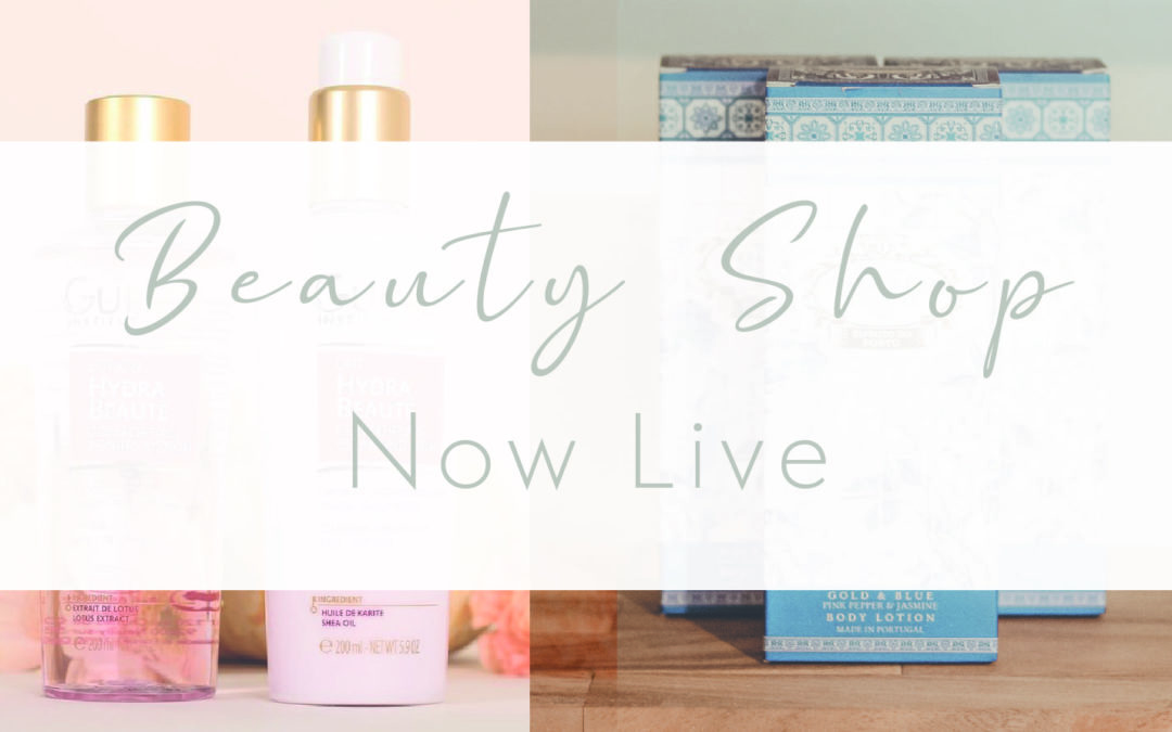 Beauty Shop Now Live
